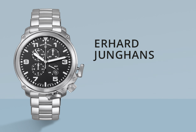 Erhard Junghans Uhren bei Juwelier Bartels