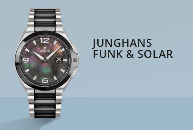 Junghans Funk & Solar Uhren bei Juwelier Bartels