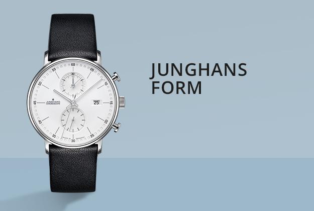 Junghans Form Uhren bei Juwelier Bartels