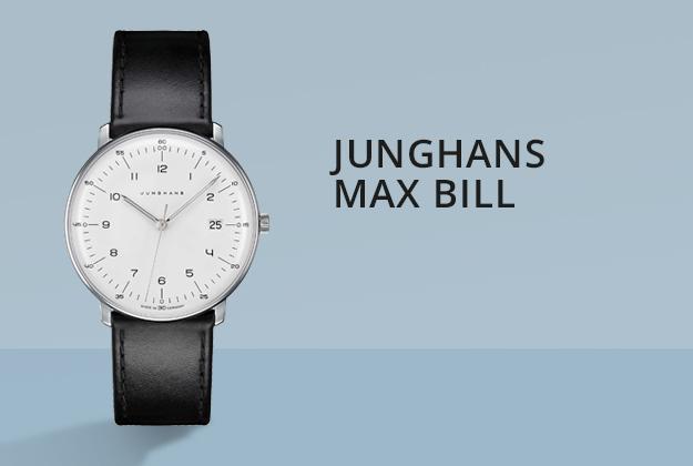 Junghans Max Bill Uhren bei Juwelier Bartels