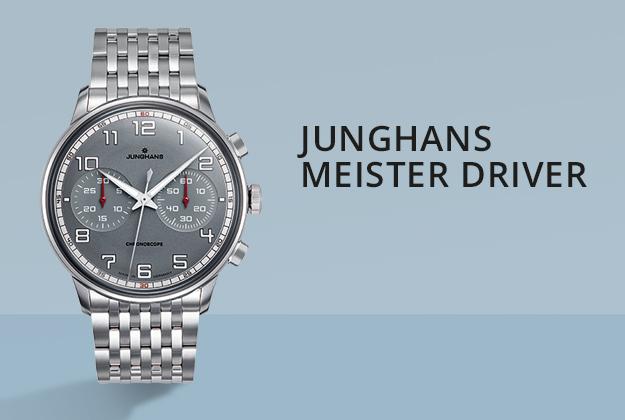 Junghans Meister Driver Uhren bei Juwelier Bartels