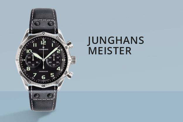 Junghans Meister Uhren bei Juwelier Bartels